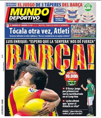 Okładka Mundo Deportivo
