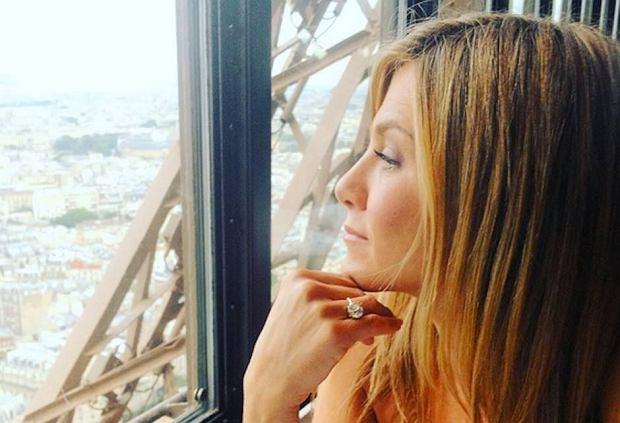 Jennifer Aniston (fot. Instagram.com/justintheroux)