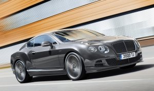 Salon Genewa 2014 | Bentley Continental GT Speed