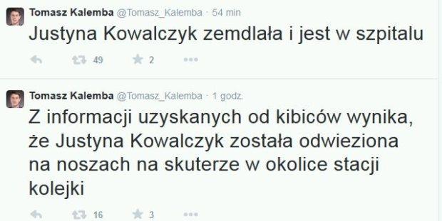 Tomasz Kalemba o Kowalczyk