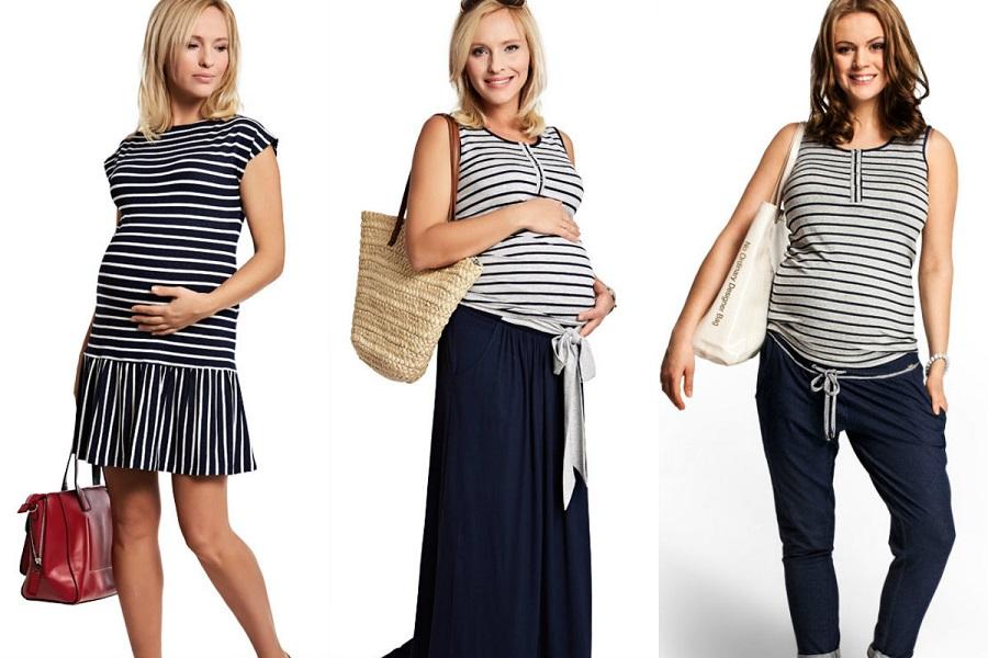 Styl marynarski dla kobiet w ciąży