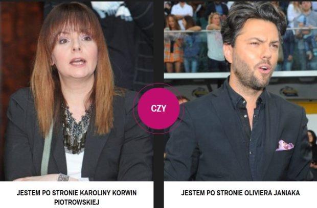 Karolina Korwin Piotrowska, Olivier Janiak