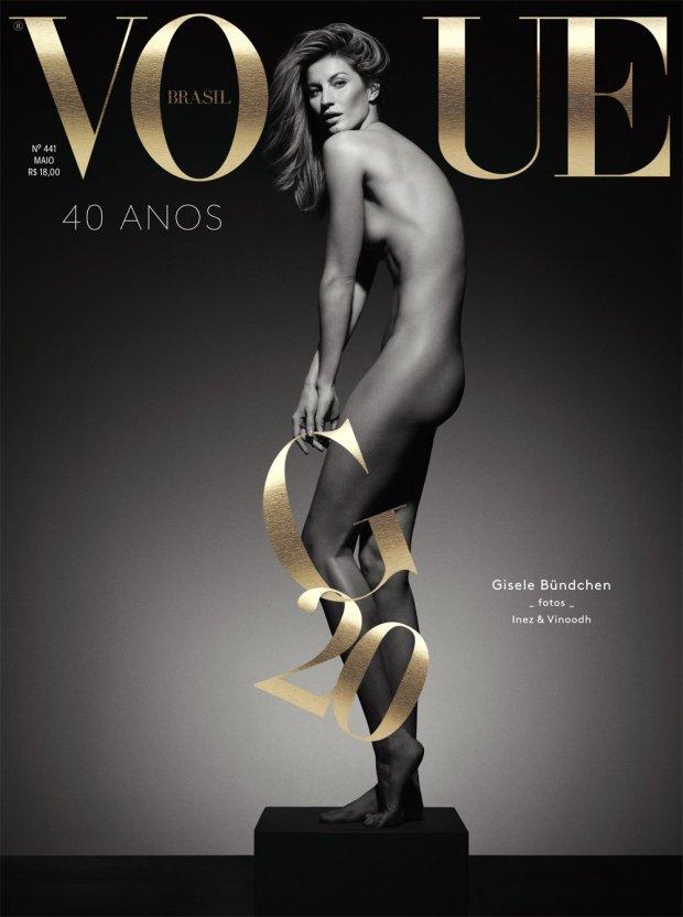 Gisele Bundchen na okładce Vogue Brazil