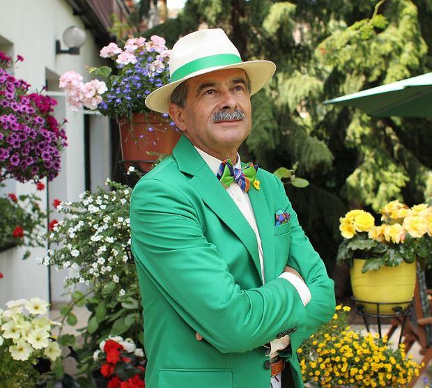 Jan Adamski, 63-letni bloger modowy z Warszawy.