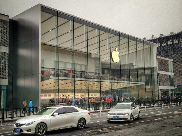 Sklep Apple w Hangzhou