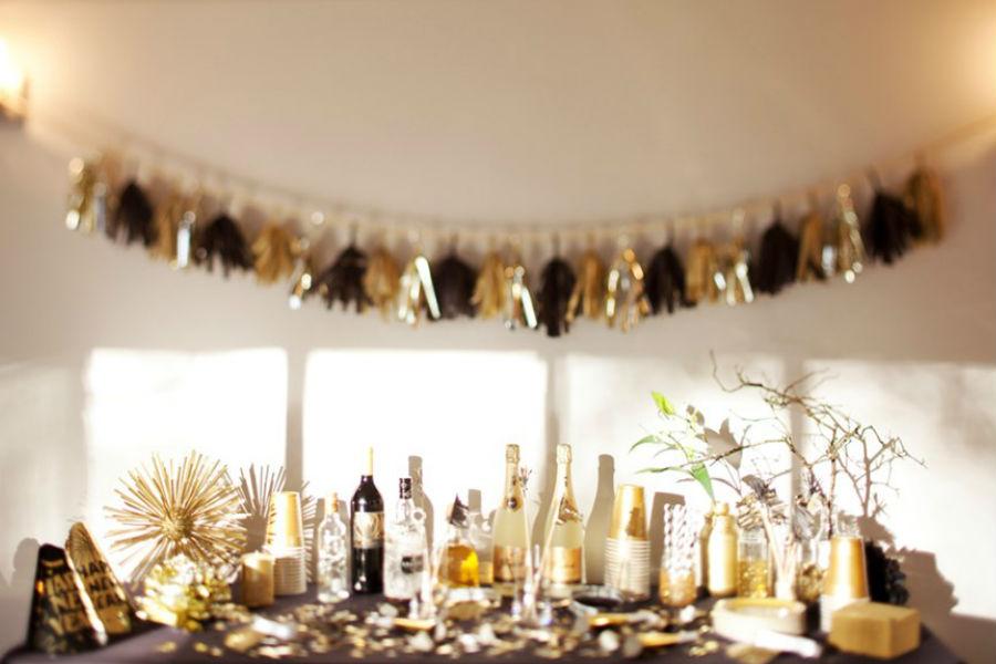 Świeże Jak udekorować mieszkanie na imprezę sylwestrową? HC14