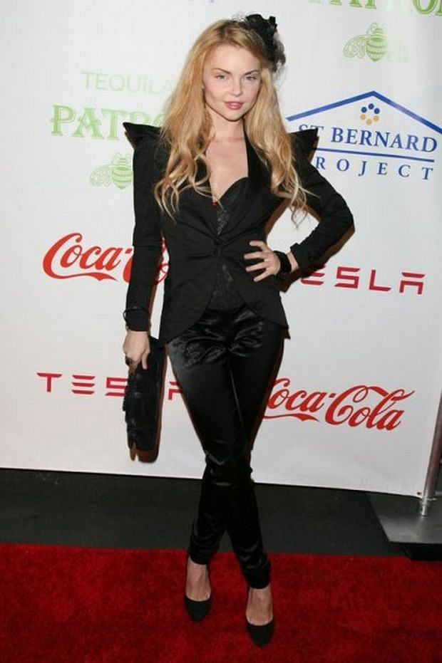 The Homes that Hollywood Built Event benefitting St Bernard Project held at Tesla Motors in Los Angeles, California.  Pictured: Izabella Miko