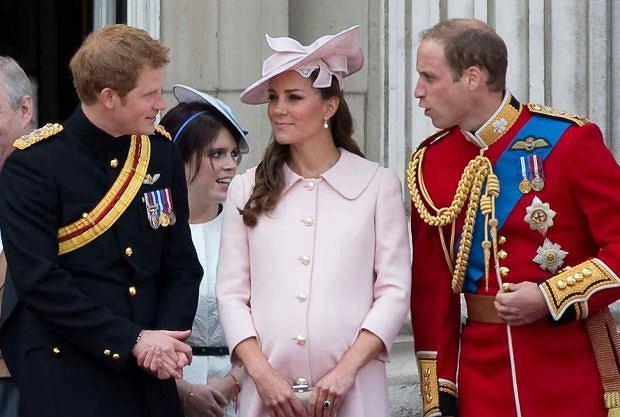 Księżna Kate i książę William, książę Harry
