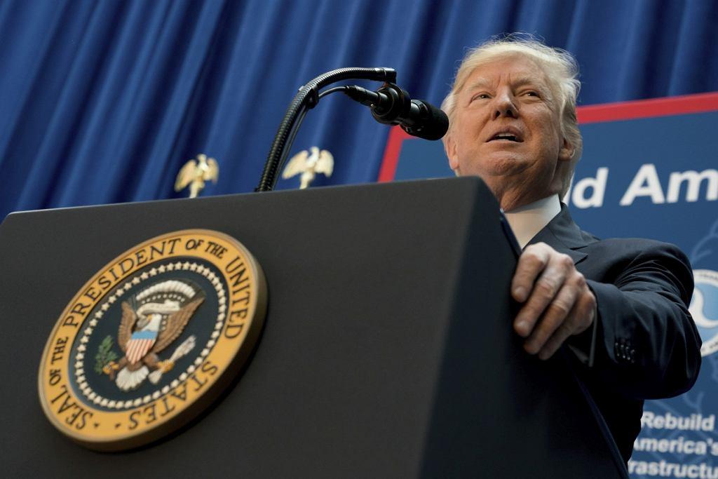 Donald Trump, prezydent USA (fot. Andrew Harnik/AP)