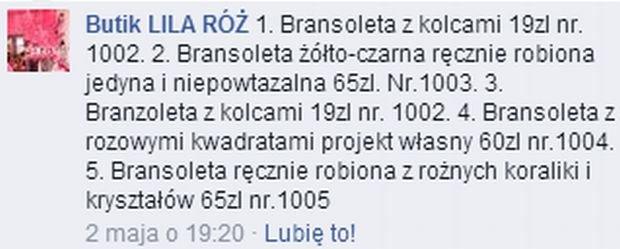 Butik Lila Róż