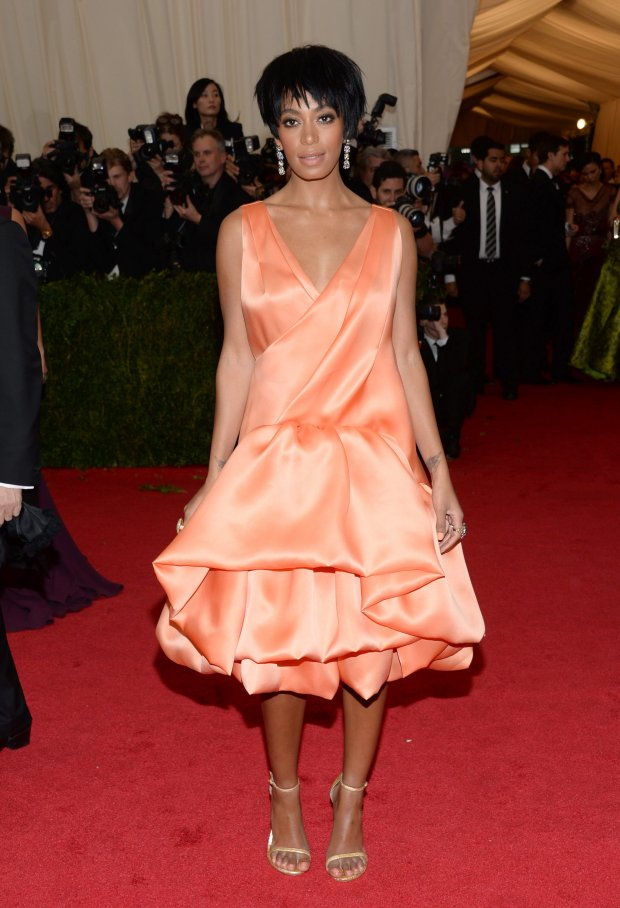 Solange Knowles attends The Metropolitan Museum of Art's Costume Institute benefit gala celebrating