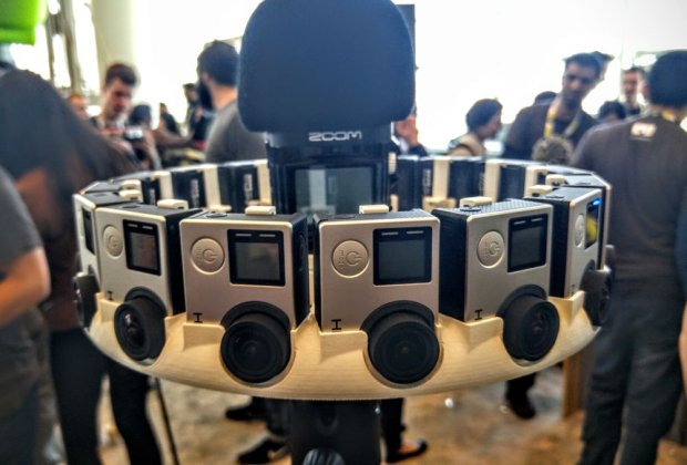 Zestaw kamer do nagrywania treści pod VR