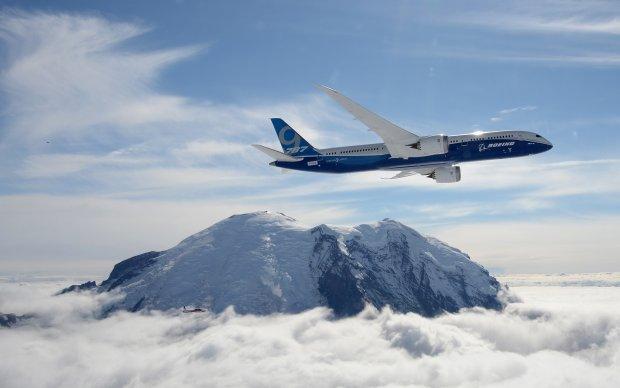 Jeden z pierwszych lotów Boeing 787-9