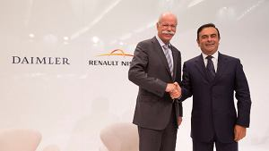 Daimler zacieśnia współpracę z Aliansem Renault-Nissan