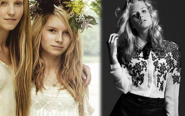 Siostra przyrodnia Kate Moss - Lottie Moss