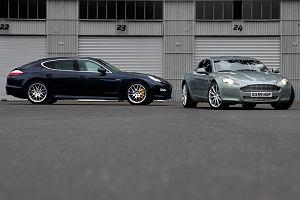 Konfrontacja | Porsche Panamera Turbo vs. Aston Martin Rapide