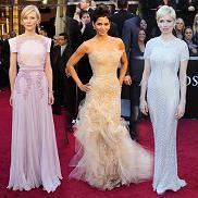 Oscary 2011 - czerwony dywan, najlepiej ubrane
