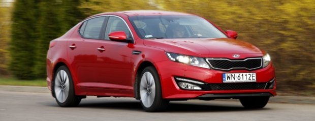 Kia Optima 2.0 XL - test | Made in Korea