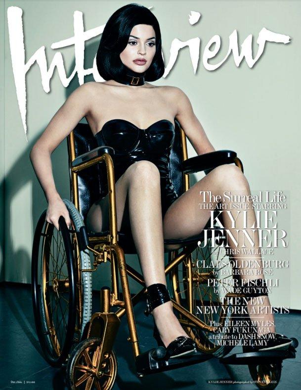 Kylie Jenner dla Interview Magazine