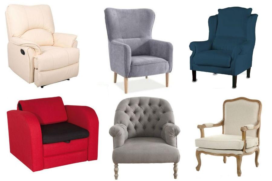 Klasyczne i eleganckie fotele