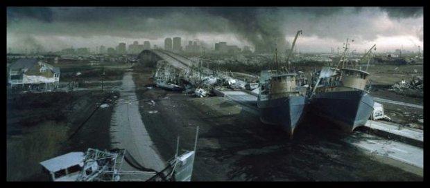 Świat po apokalipsie. Kadr z filmu