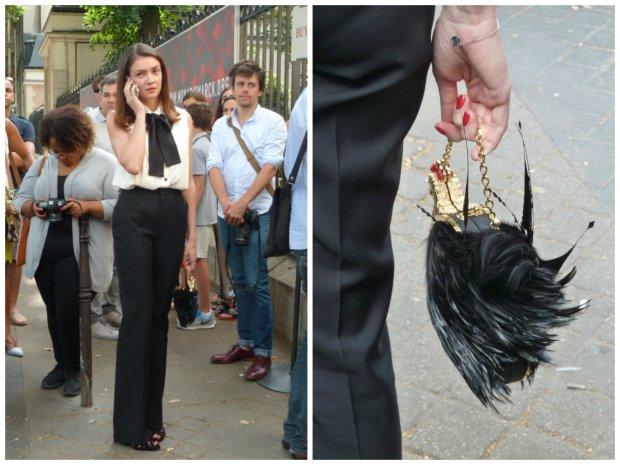 Street fashion - pokaz Ulyany Sergeenko haute couture