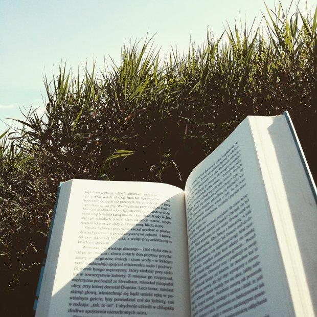 Czytam i nie mogę się oderwać / fot. Olaszka