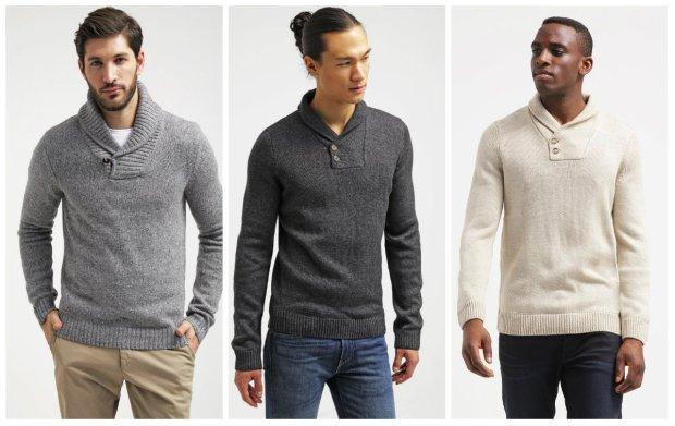 Męskie swetry - coś ciepłego tym razem dla niego