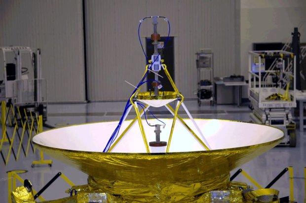 Anteny komunikacyjne New Horizons