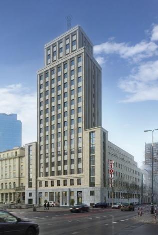 Projekt remontu wieżowca Prudential według koncepcji pracowni Bulanda Mucha Architekci.