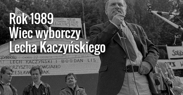 Lech Wałęsa i Lech Kaczyński