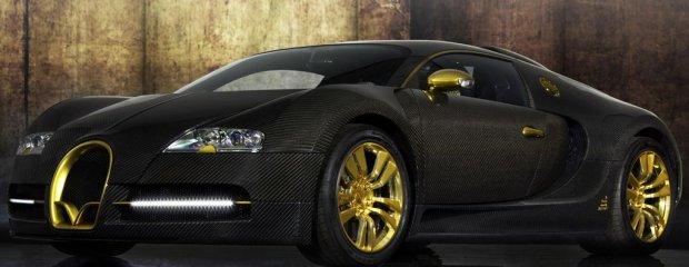 Mansory Bugatti Veyron Linea Vincero DOro 2010