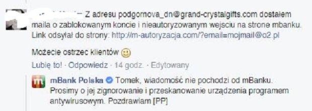 Facebook/mBank