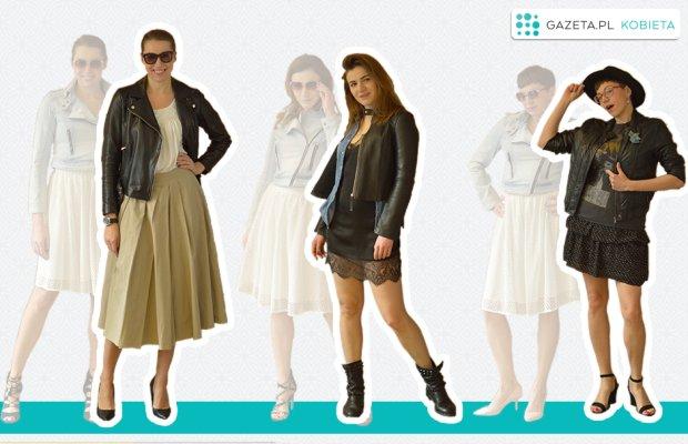 Ola:Spodnie kupilam trzy lata temu na wakacjach w eleganckim butiku - byly przecenione o 80%! Koszula zwykla biala z H&M. Szpilki skorzane na niebotycznym obcasie - nosze tylko od swieta (dlugo szukalam klasycznego modelu i znalazlam...  w Mango).