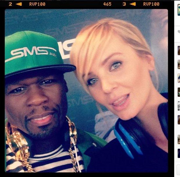 Agnieszka Szulim i 50 Cent