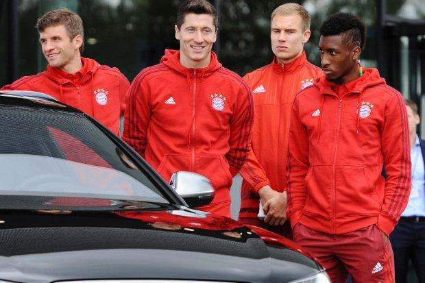 Nowe modele Audi dla piłkarzy Bayernu