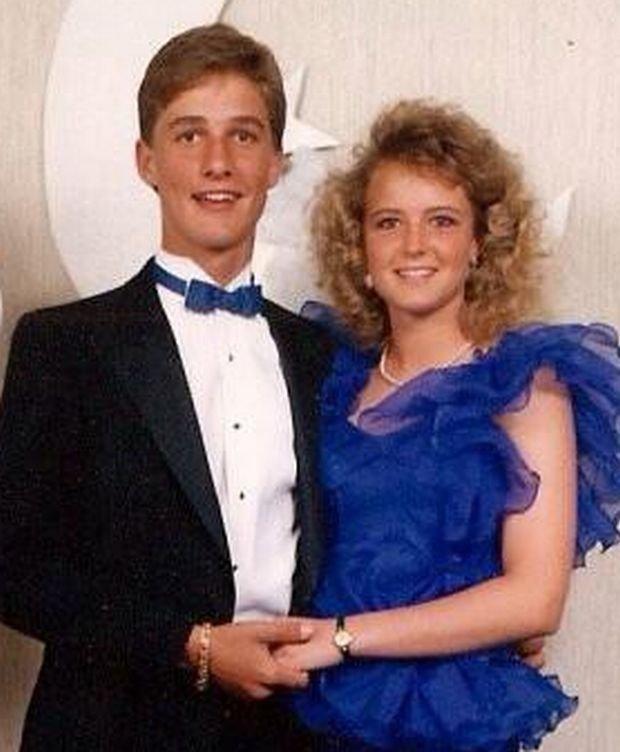 Matthew McConaughey na balu maturalnym