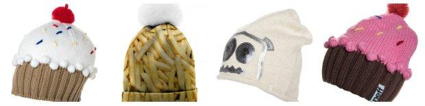 Zabawne czapki zimowe
