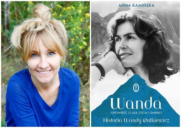 Książka Anny Kamińskiej ''Wanda. Opowieść o sile życia i śmierci'' ukazała się nakładem Wydawnictwa Literackiego (fot. archiwum prywatne / materiały prasowe)