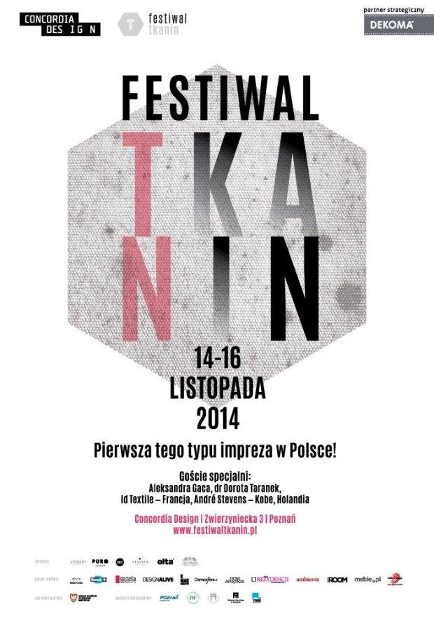 Festiwal Tkanin plakat