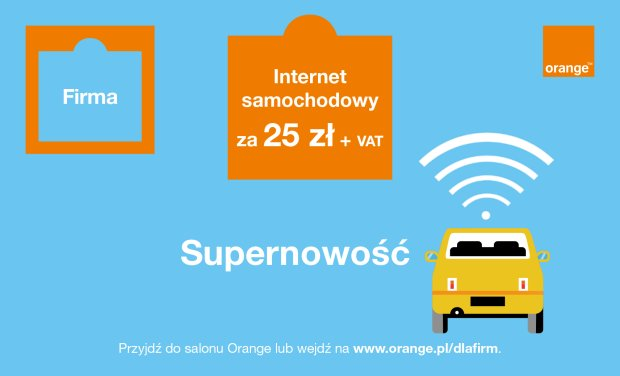Internet samochodowy Orange