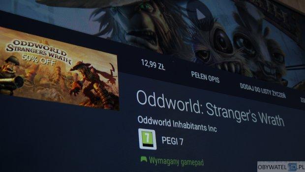 Oddworld Strangers Wrath wymagany pad