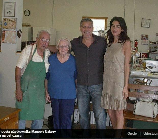George Clooney w Kentucky