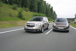 Chevrolet Orlando vs. Renault Grand SCenic