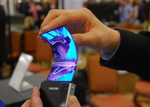 Giętkie wyświetlacze Samsunga