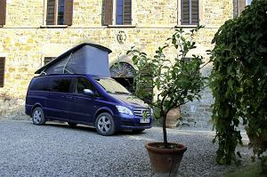 Mercedes Viano Marco Polo - test   Pierwsza jazda