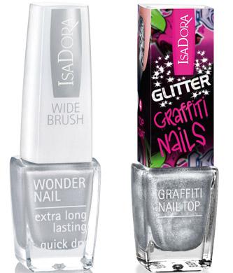 kolory, manicure, trendy, stylizacja paznokci, srebrny lakier do paznokci