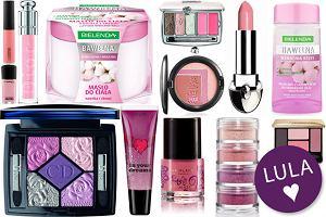 Różowe kosmetyki