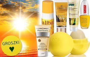 Słonecznie: żółte kosmetyki