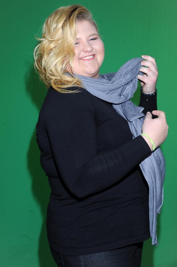 11-04-2012 Warszawa Weronika Grycan w programie Kolejno Odlicz foto: Daniel Wysocki/ONS ZDJECIA EXCLUSIVE